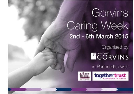 Gorvins Solicitors Caring Week with Together Trust and Home Instead 2015